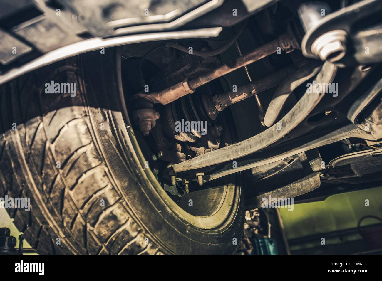 Car Steering And Suspension Maintenance In The Auto Service Front