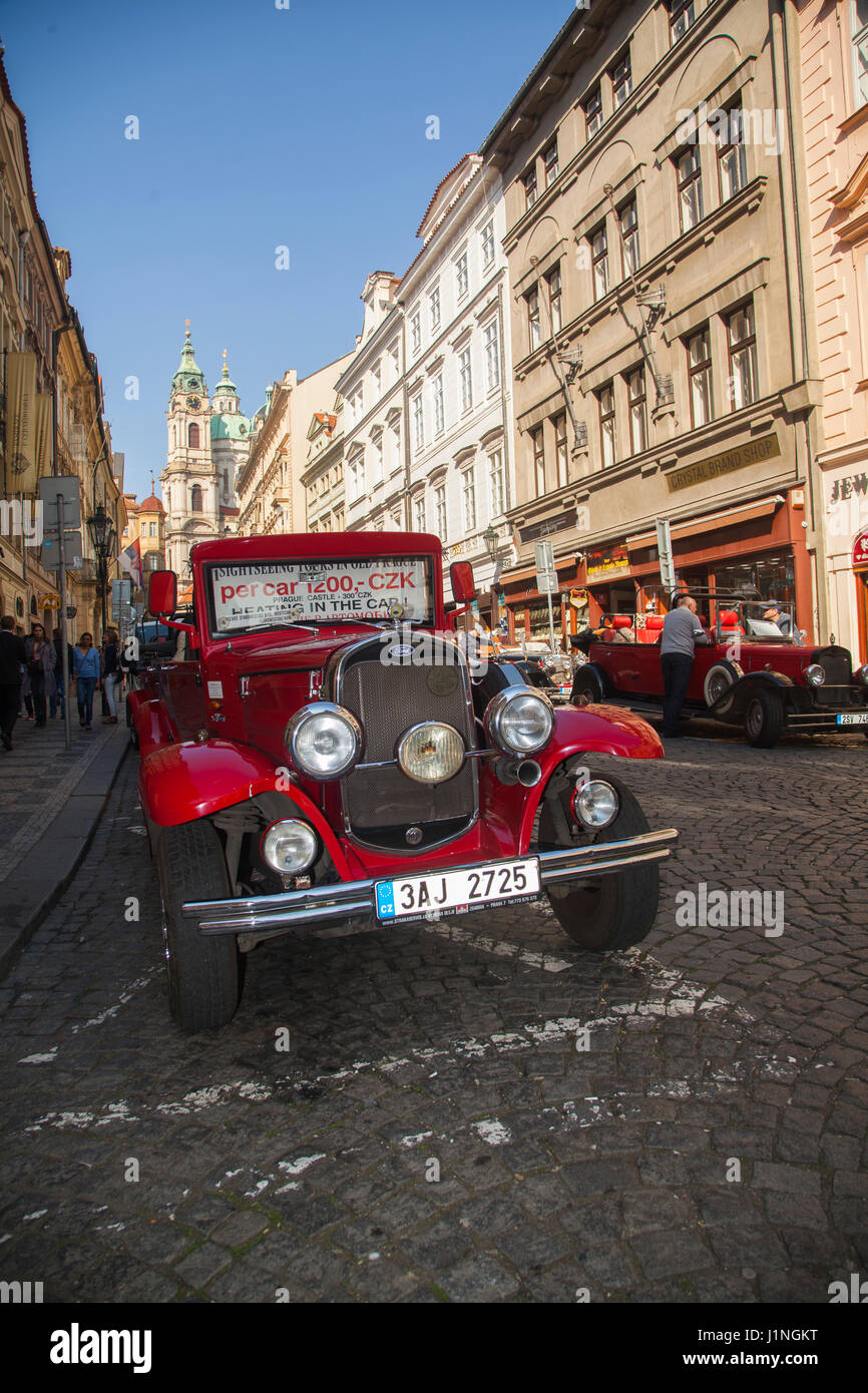 Newly produced retro vintage classic cars used to give tourists ...