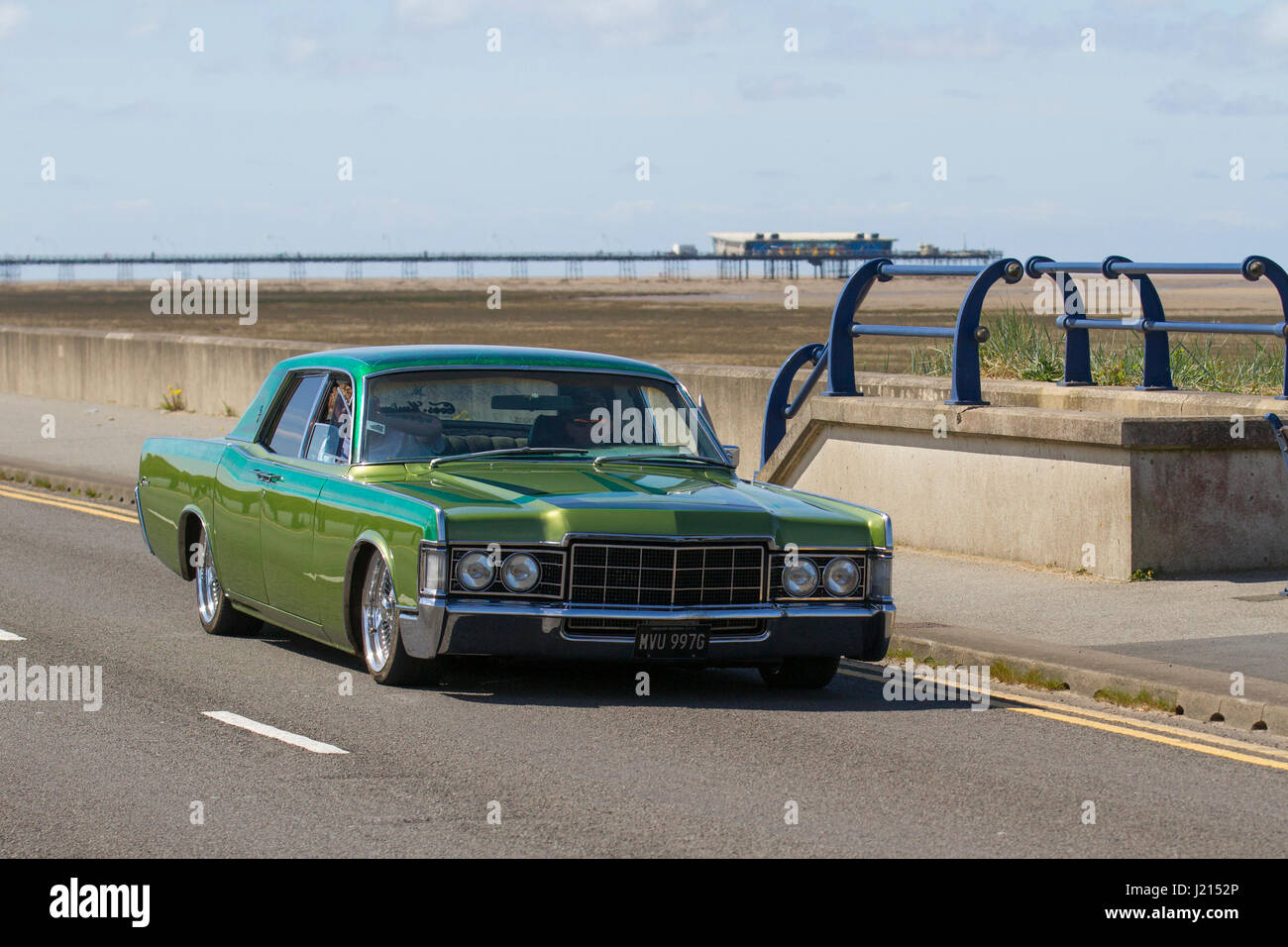 1969 American green Lincoln Cars from the Gawsworth Hall Veteran ...