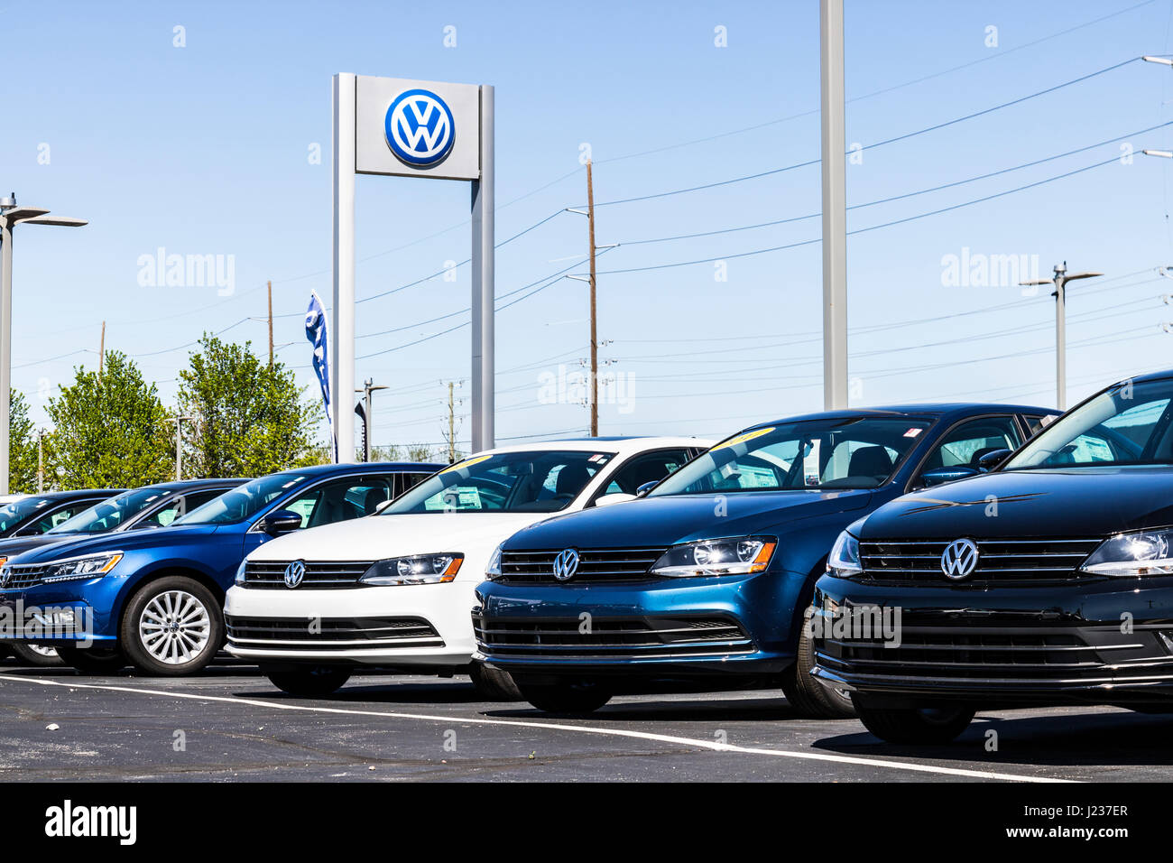 Indianapolis Circa April Volkswagen Cars And SUV - Volkswagen dealership indianapolis