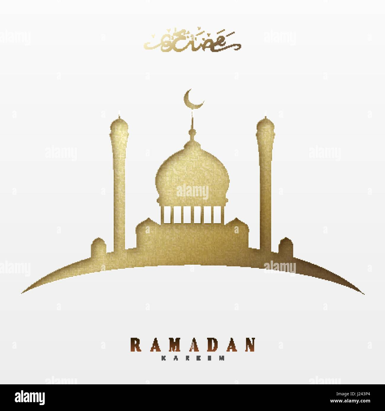 Mosque background for ramadan kareem stock photography image - Ramadan Greeting Card With Arabic Calligraphy Ramadan Kareem Islamic Background With Mosques