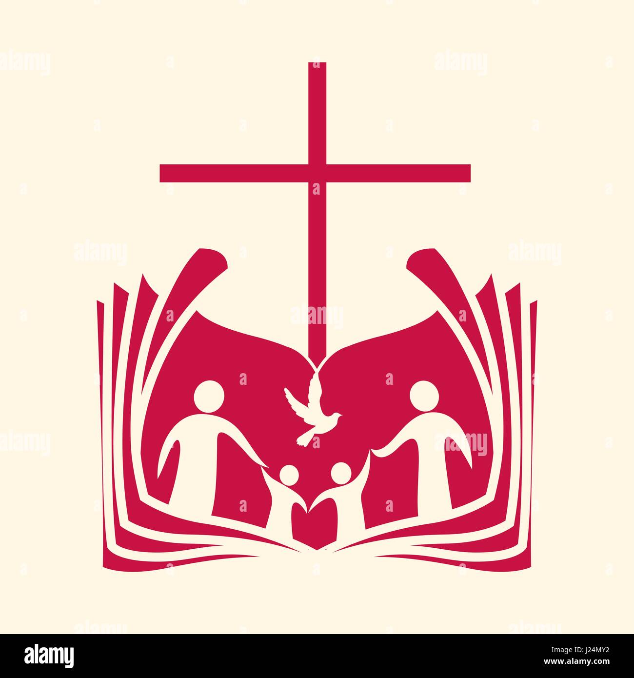 church logo christian symbols the christian family the bible