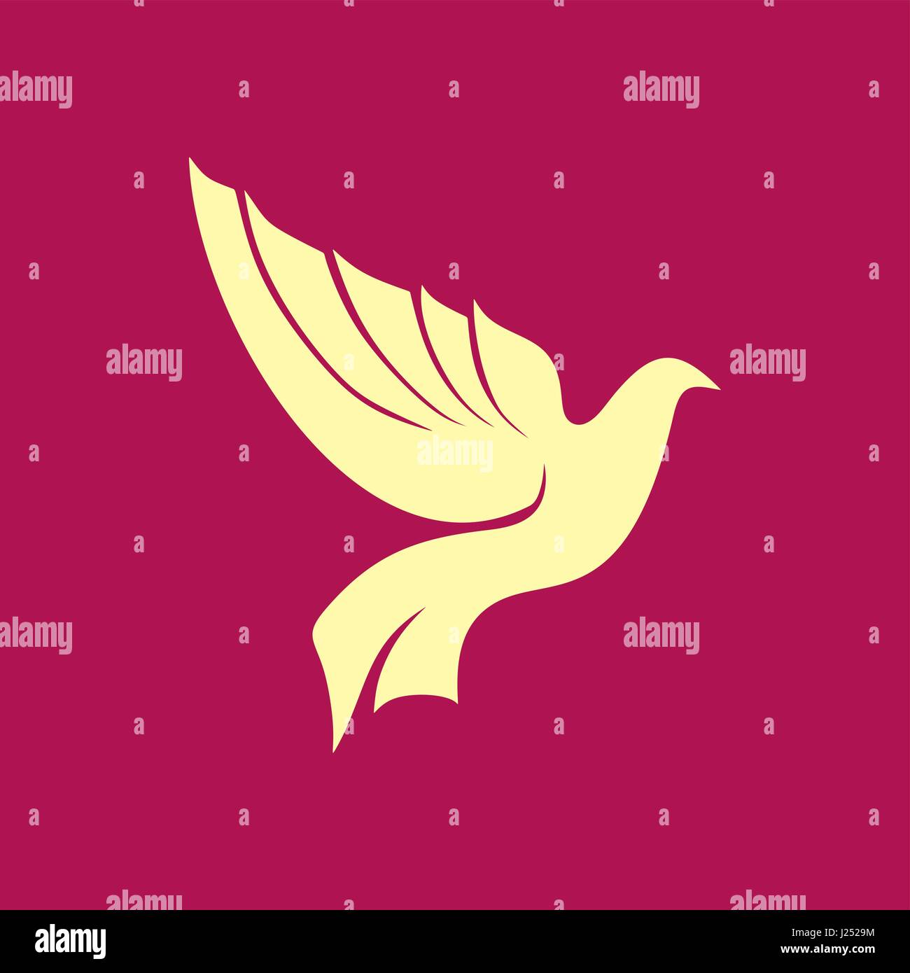 Image and silhouette of a dove a symbol of the holy spirit of image and silhouette of a dove a symbol of the holy spirit of god biocorpaavc