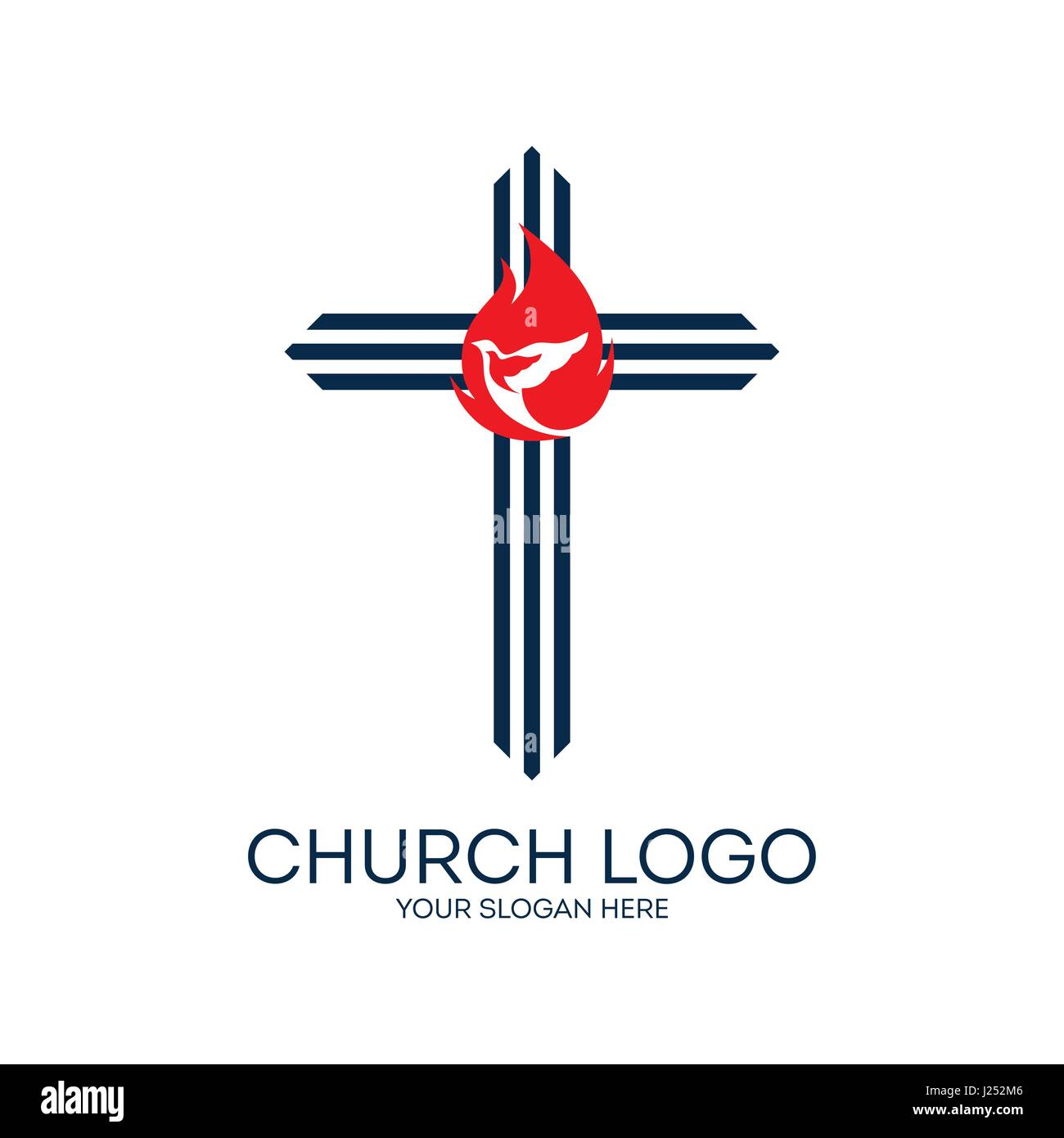 Church logo the cross of jesus the dove and the flame are symbols church logo the cross of jesus the dove and the flame are symbols of the spirit of god buycottarizona Gallery