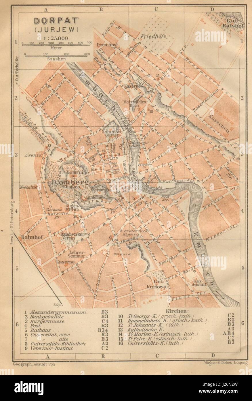 tartu linna kaart