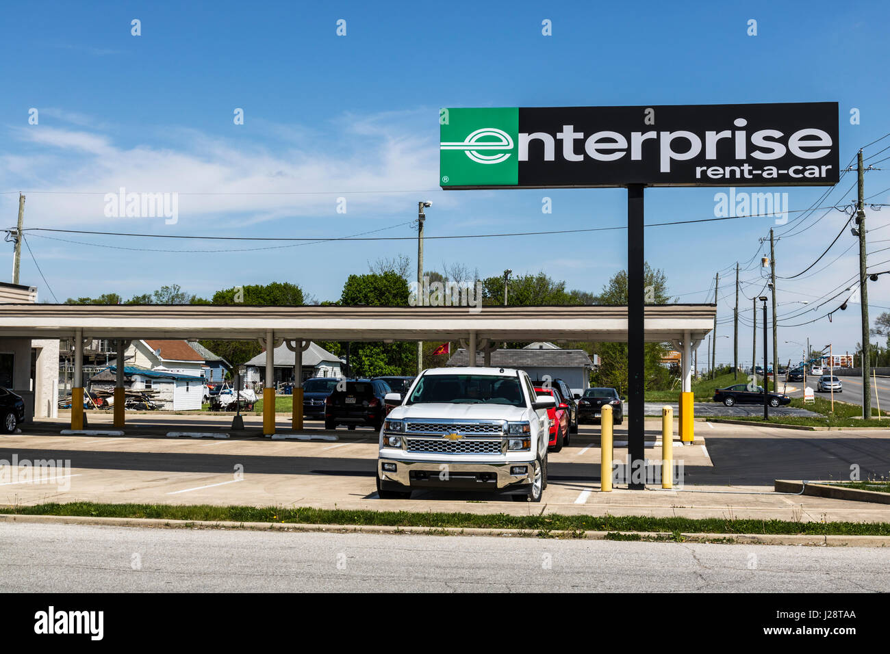 Marion - Circa April 2017 Enterprise Rent-A-Car Local Rental Location. Enterprise Rent-A-Car is the largest rental car company in the US II & Marion - Circa April 2017: Enterprise Rent-A-Car Local Rental ...