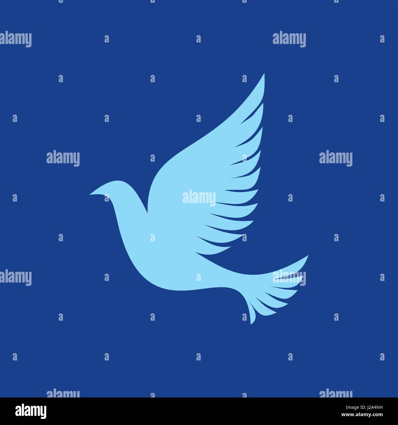Dove a symbol of the holy spirit of god stock vector art dove a symbol of the holy spirit of god biocorpaavc