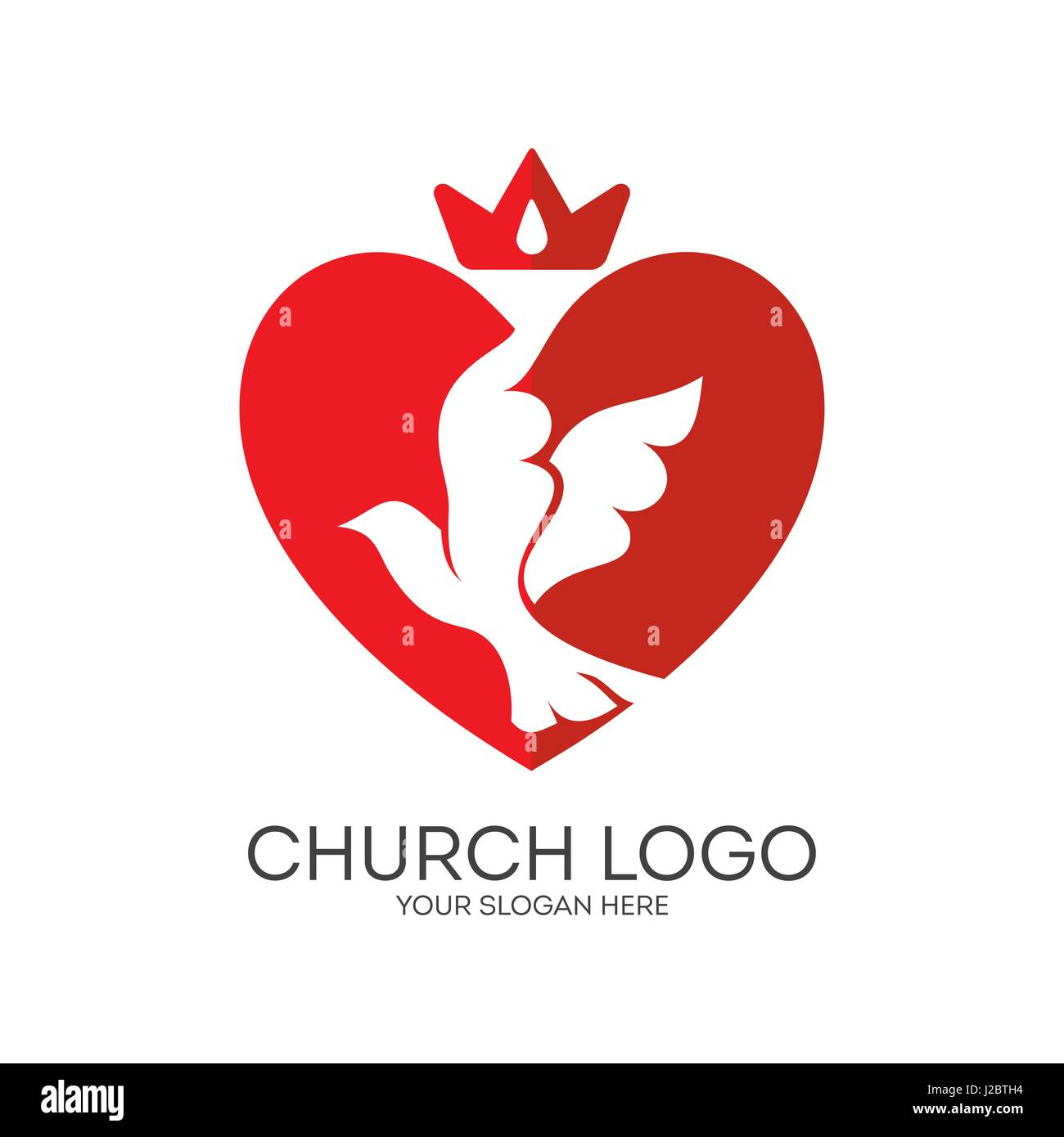 Logo for the church ministry mission heart and dove a symbol logo for the church ministry mission heart and dove a symbol of the holy spirit biocorpaavc