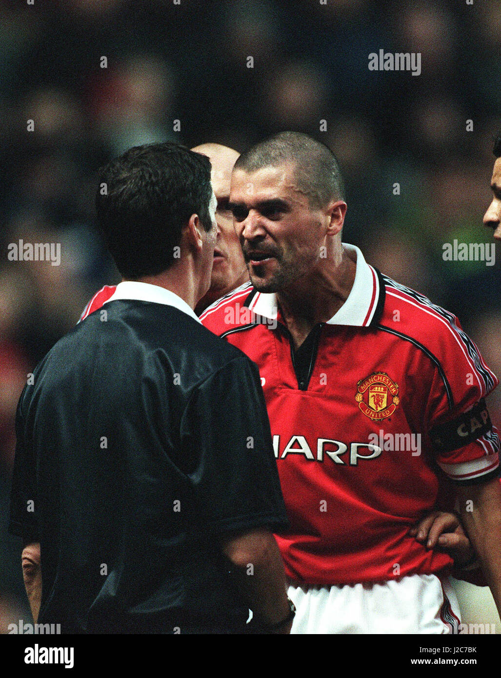ANDY D URSO & ROY KEANE MANCHESTER UTD V MIDDLESBROUGH OLD
