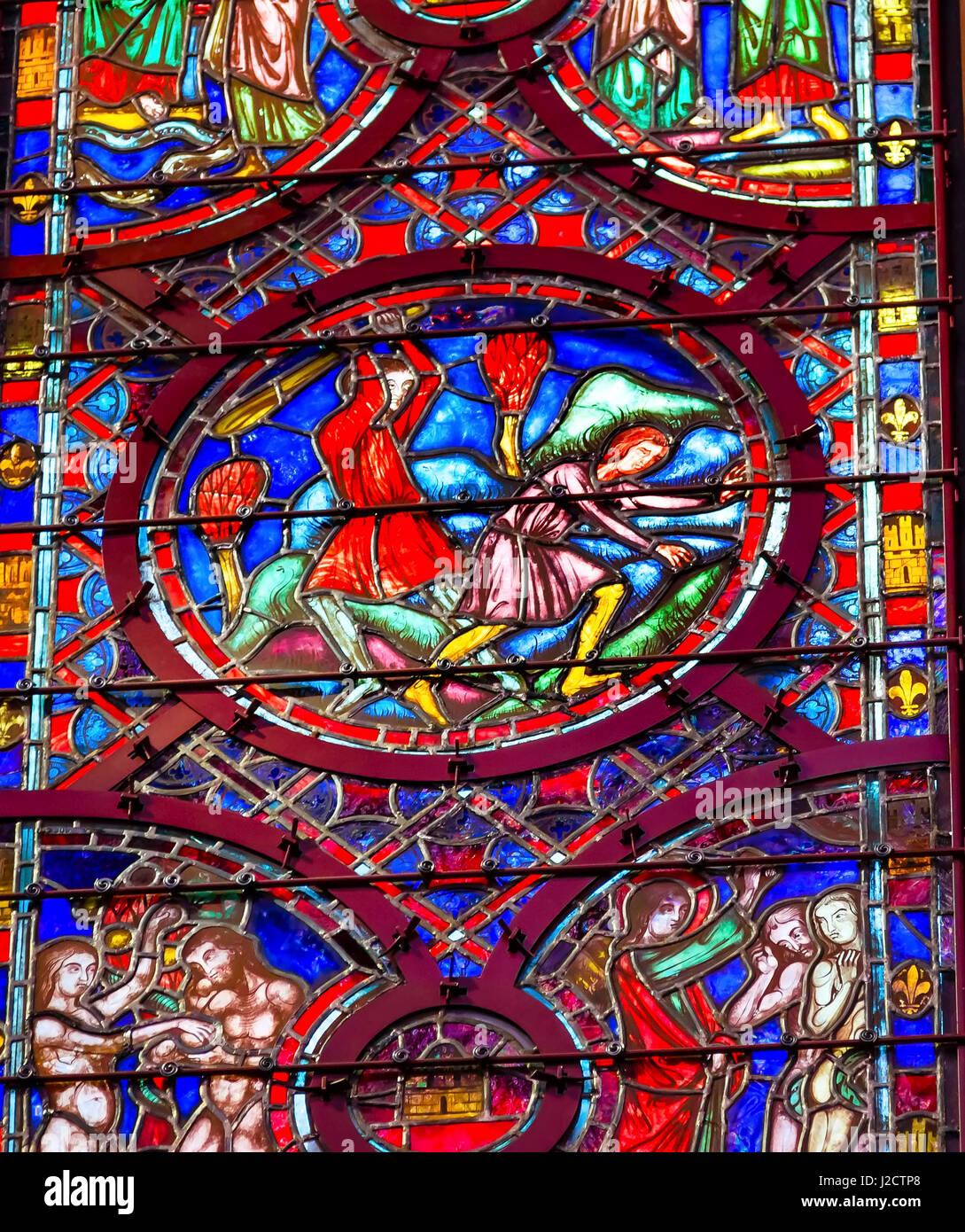 cain abel adam eve saint king louis 9th created sainte