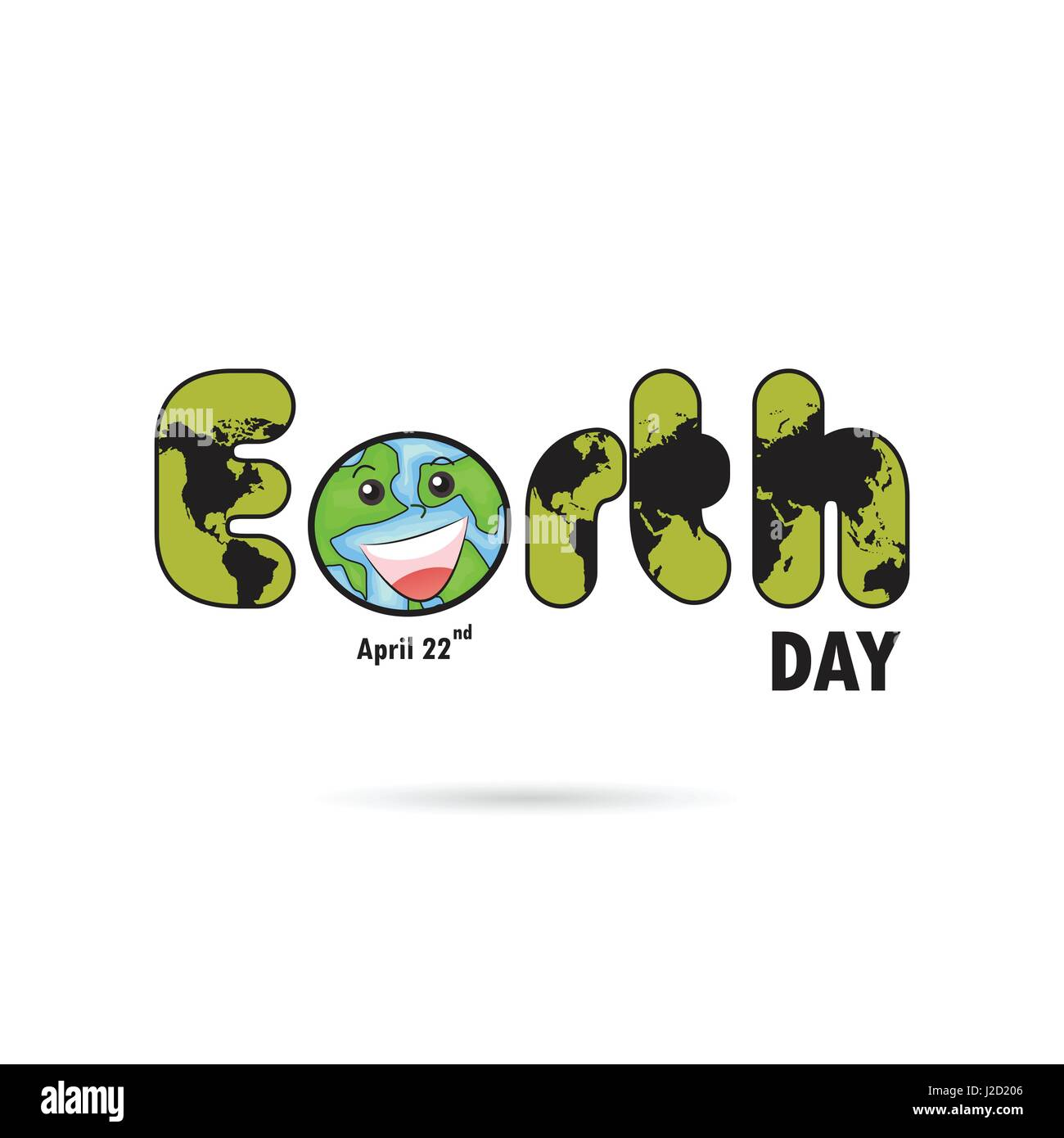 Green earth day typographical design elements happy earth day green earth day typographical design elements happy earth day lettering iconhappy earth day logotype symbolsign for greeting cardposterflyerco buycottarizona