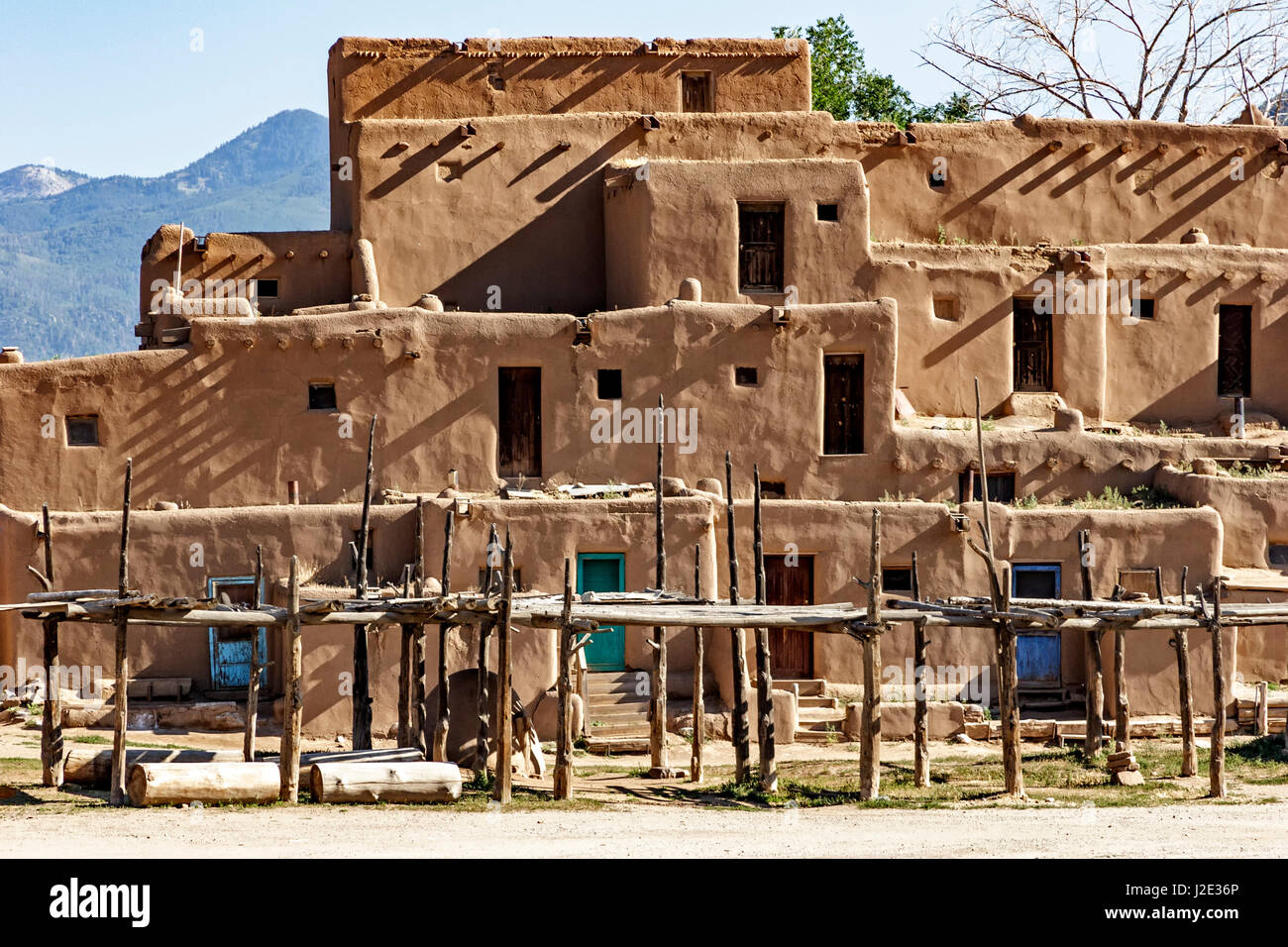Moonlights UNESCO WHS Blog: United States of America ...  |Taos Pueblo New Mexico Usa