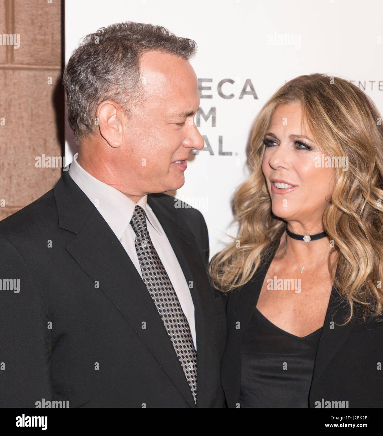 New York, United States. 26th Apr, 2017. Tom Hanks and ...
