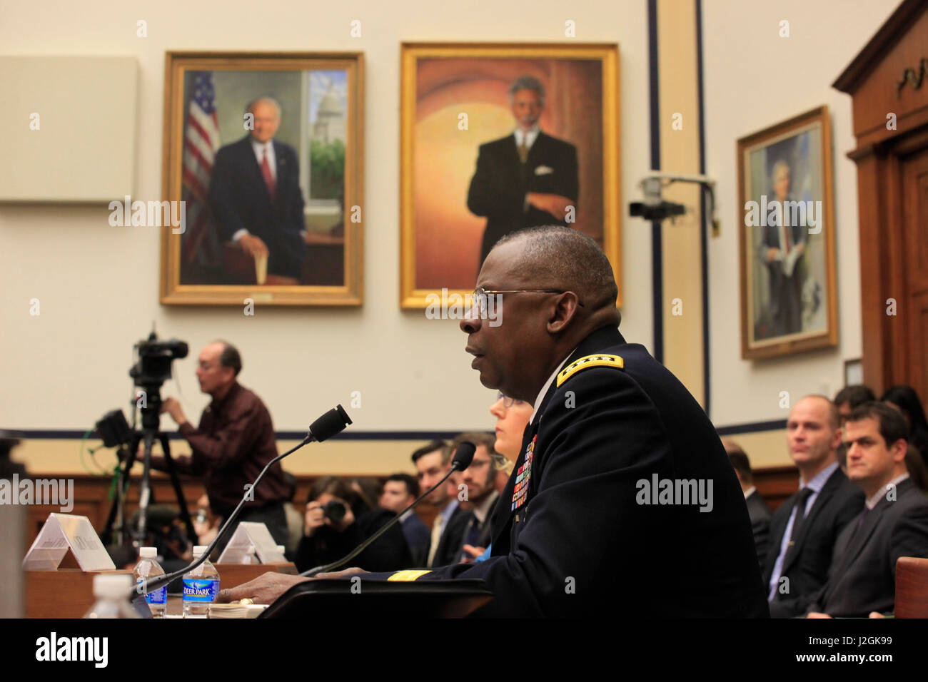 General Lloyd James Austin III, United States Army, Is The
