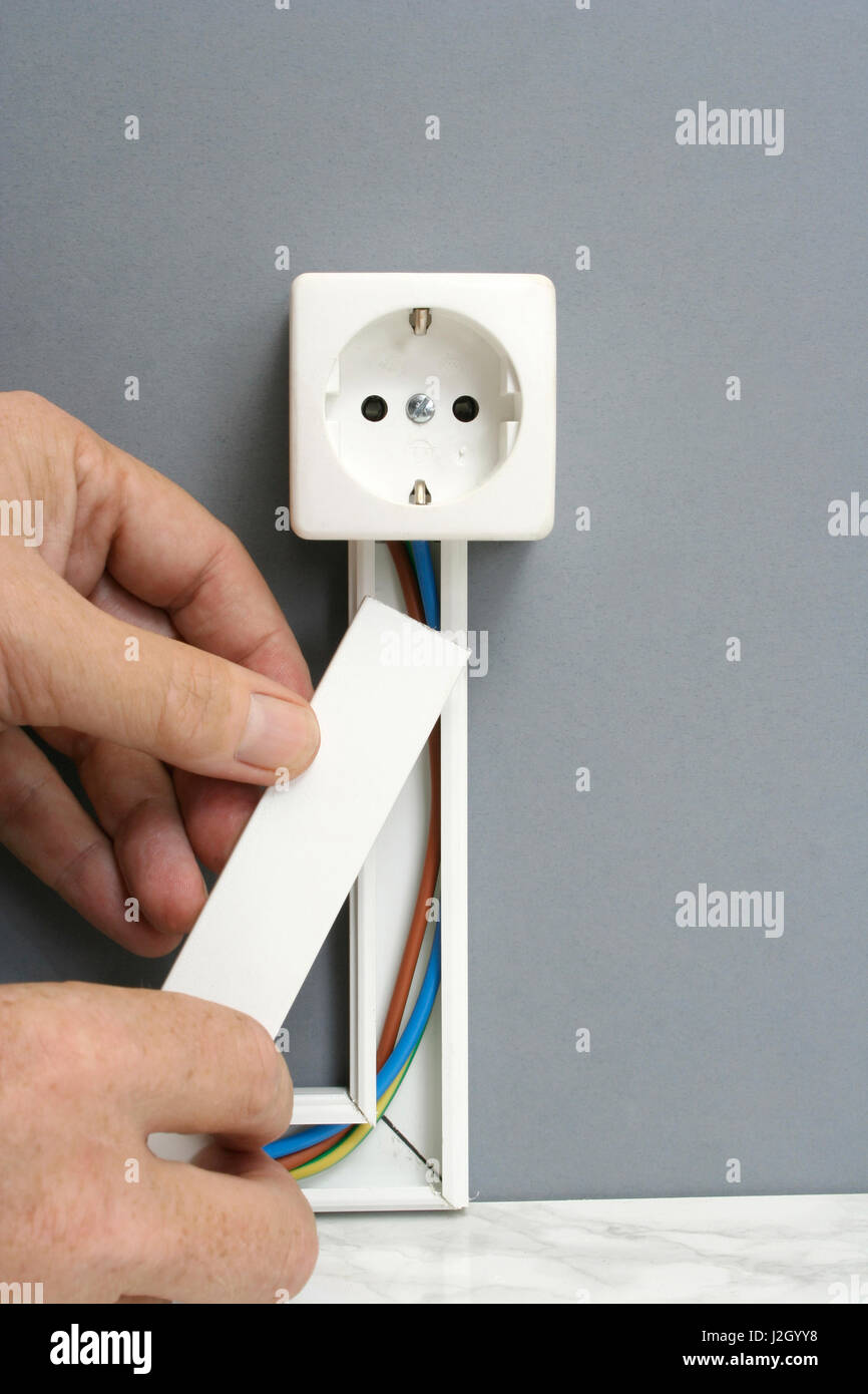 Amazing How To Install New Power Outlet Gallery - Electrical and ...