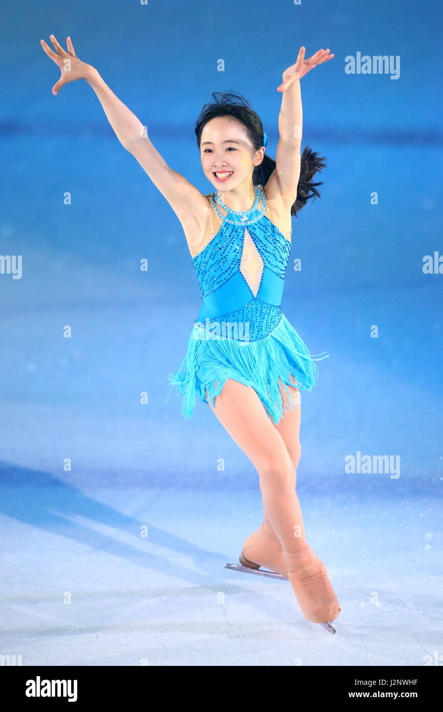 Kanagawa Japan 29th Apr 2017 Miyu Honda Figure Skating