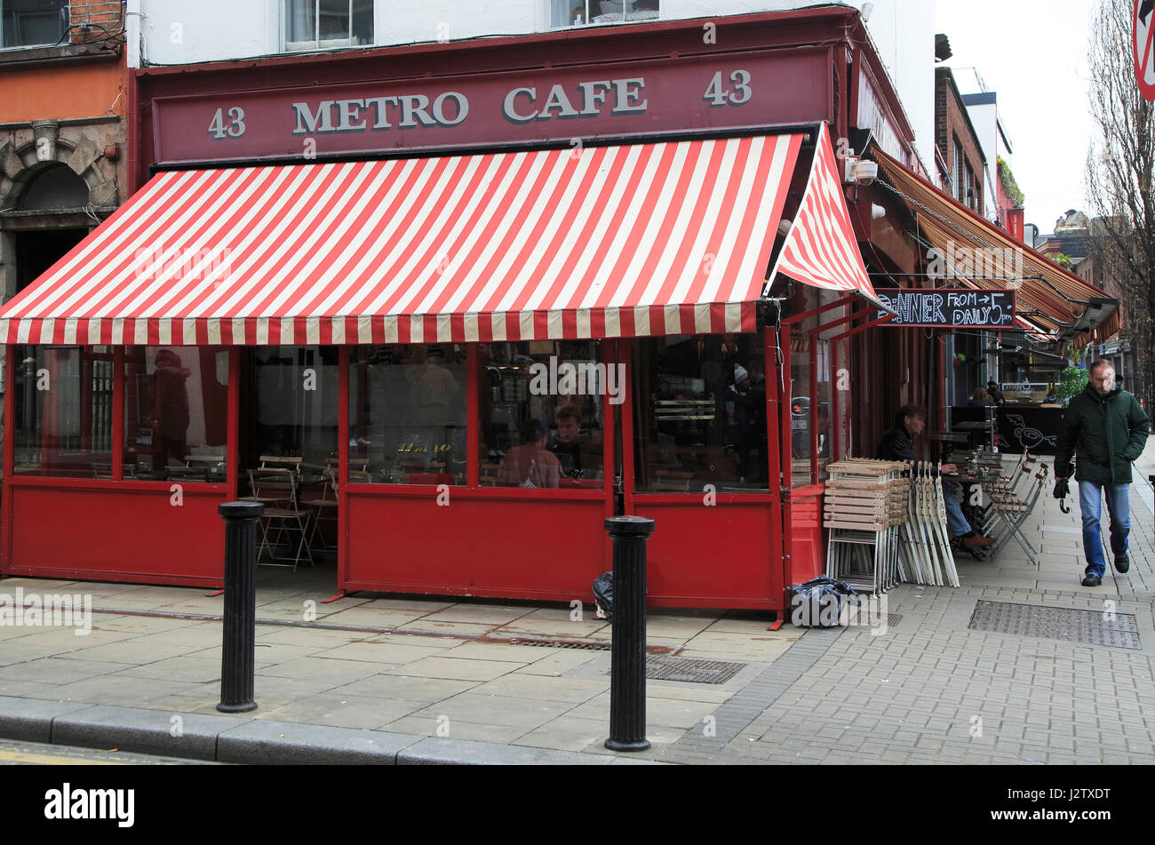 metro cafe south william street city centre dublin ireland