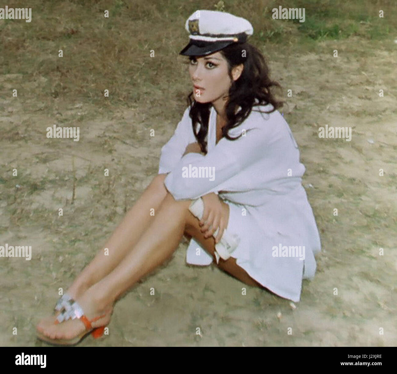 edwige fenech in top sensation stock photo royalty free