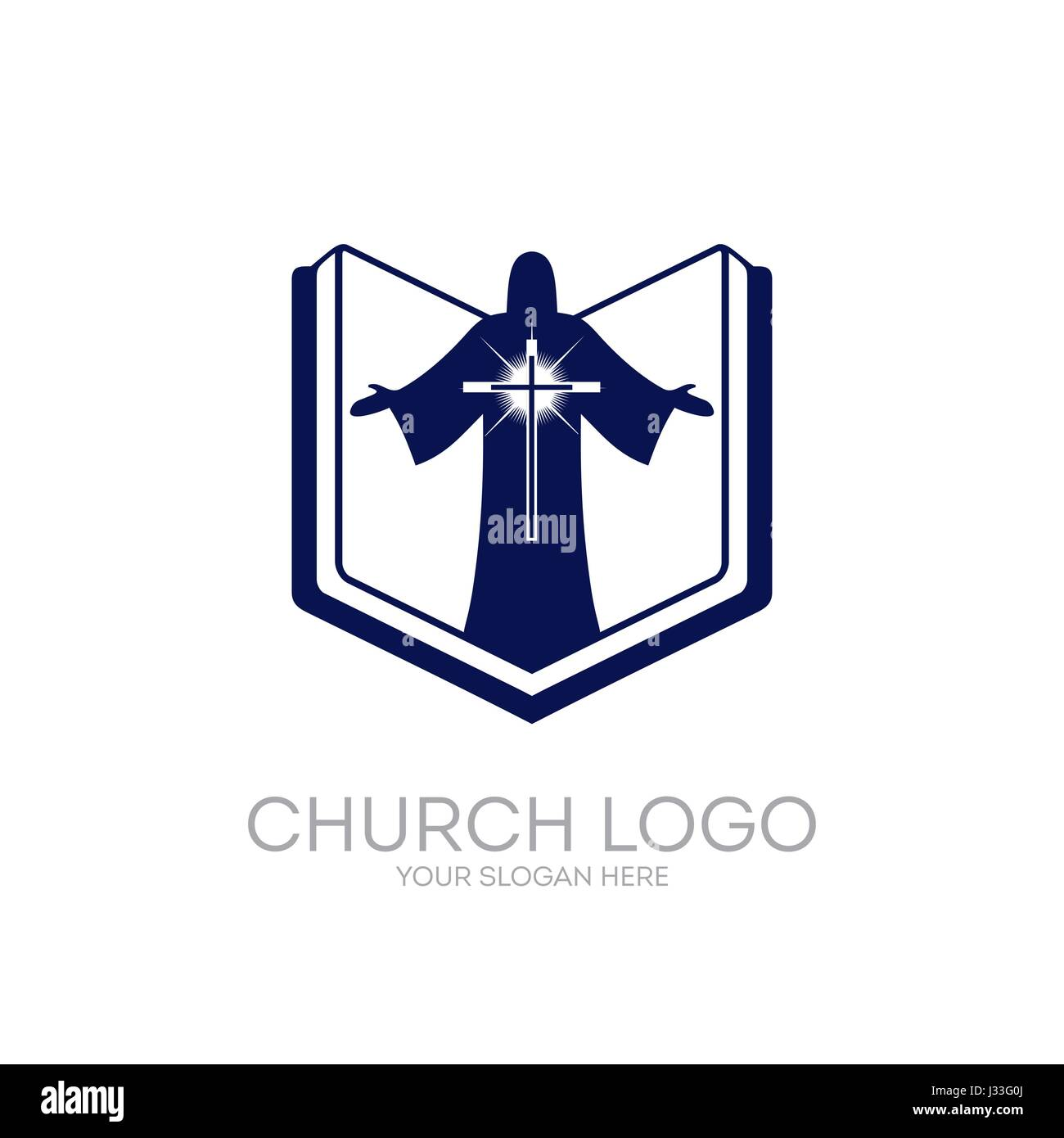 Church logo christian symbols the bible the scriptures jesus christian symbols the bible the scriptures jesus christ and the savior glowing cross biocorpaavc Image collections