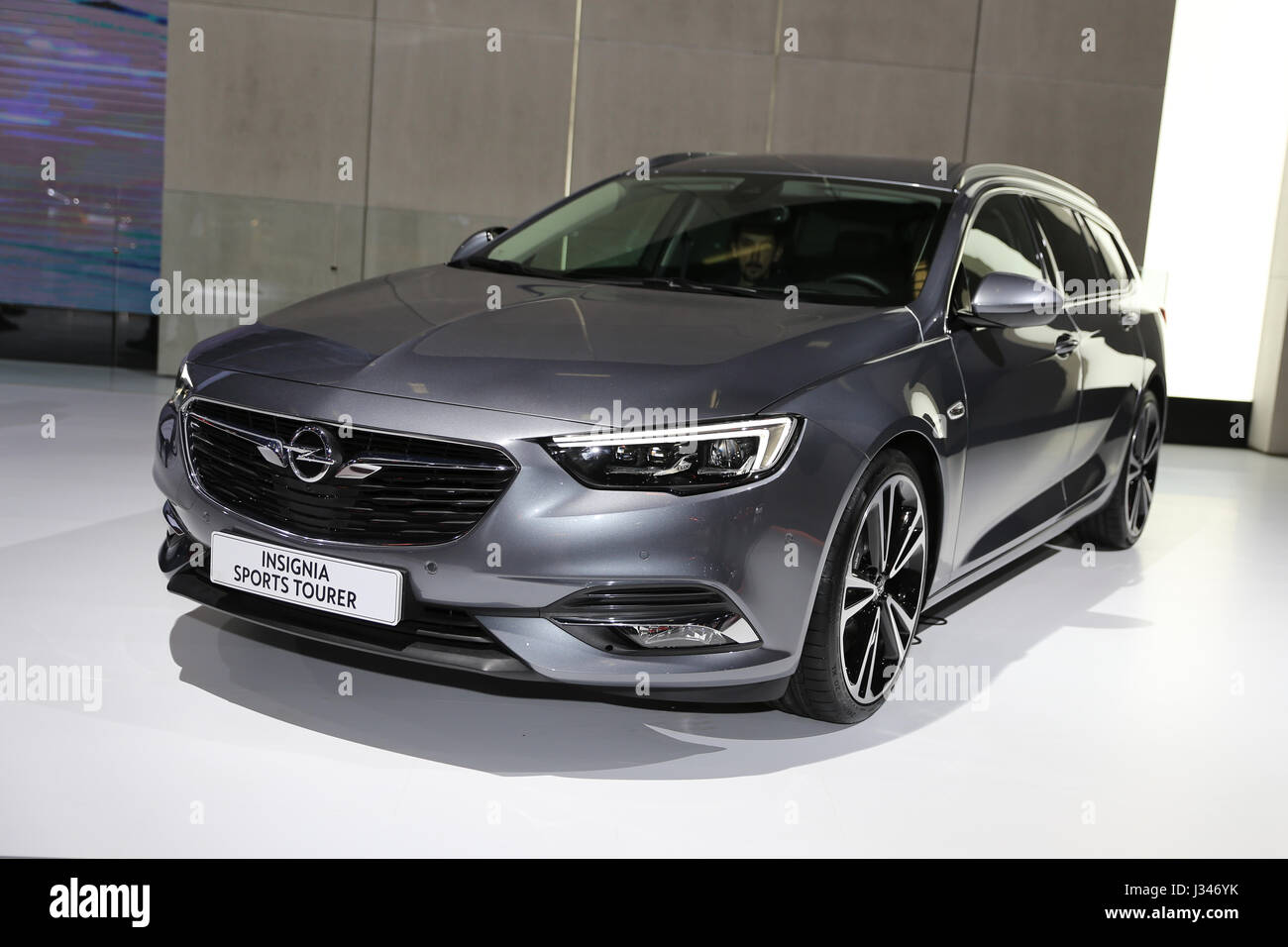 istanbul turkey april 22 2017 opel insignia sports tourer on stock photo royalty free. Black Bedroom Furniture Sets. Home Design Ideas