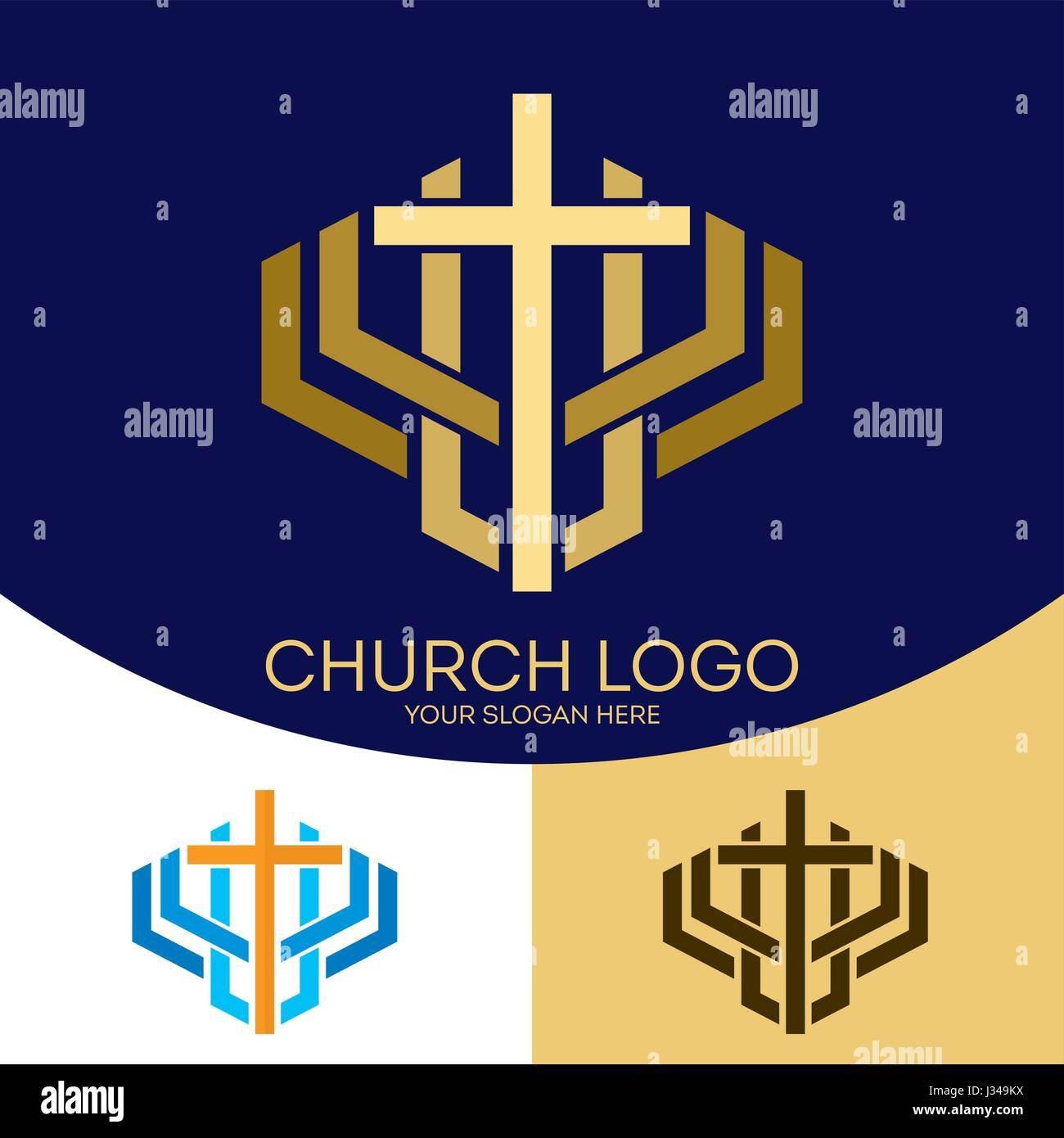Church logo christian symbols the cross of jesus christ a symbol church logo christian symbols the cross of jesus christ a symbol of death and resurrection of the lord buycottarizona Image collections