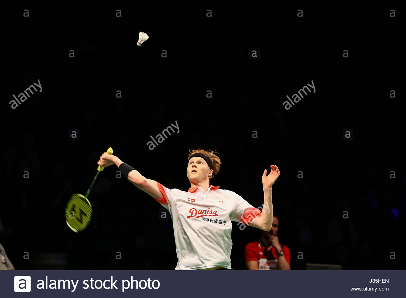 Kolding Denmark 30th Apr 2017 Anders Antonsen from Denmark in