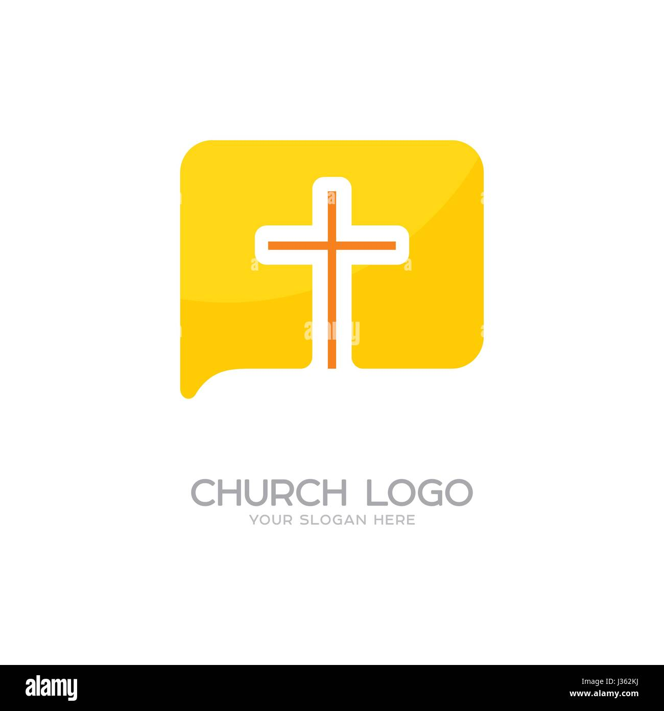 Church logo christian symbols the cross of jesus christ and the church logo christian symbols the cross of jesus christ and the symbol of communication buycottarizona Image collections