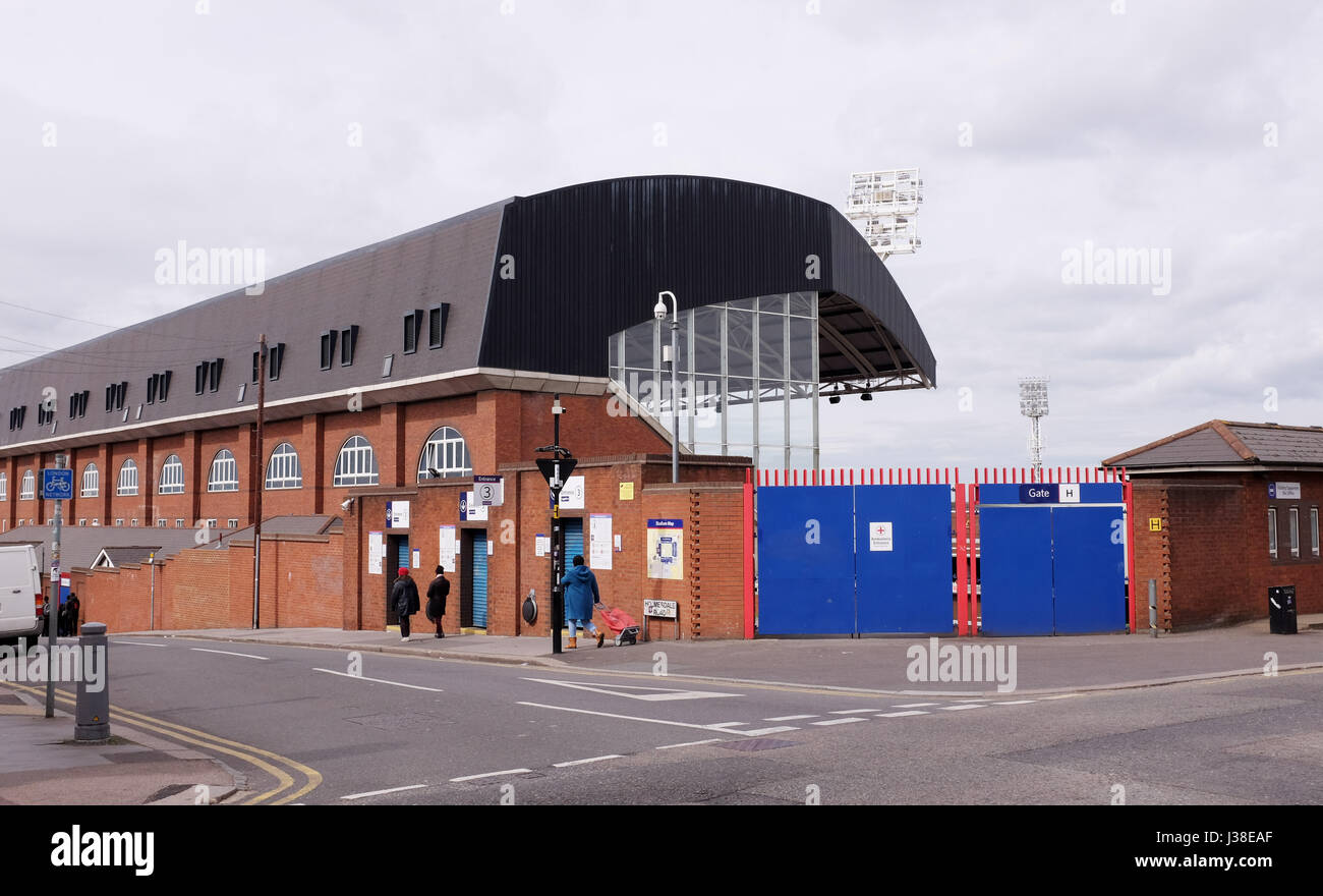 Selhurst Park Home Of Crystal Palace FC Thornton Heath And In Borough Croydon South London UK