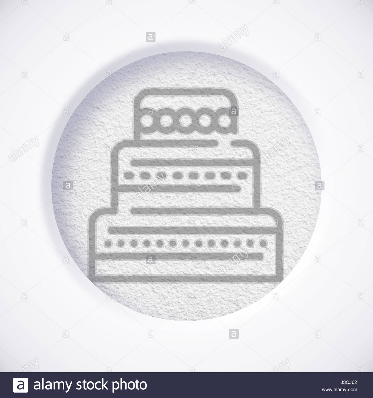 White cake symbol icon concept stock photo royalty free image white cake symbol icon concept buycottarizona