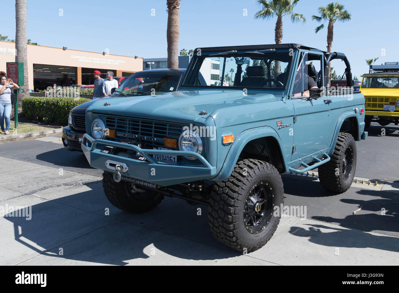 Buena park usa april 30 2017 ford bronco on display during the fabulous fords forever