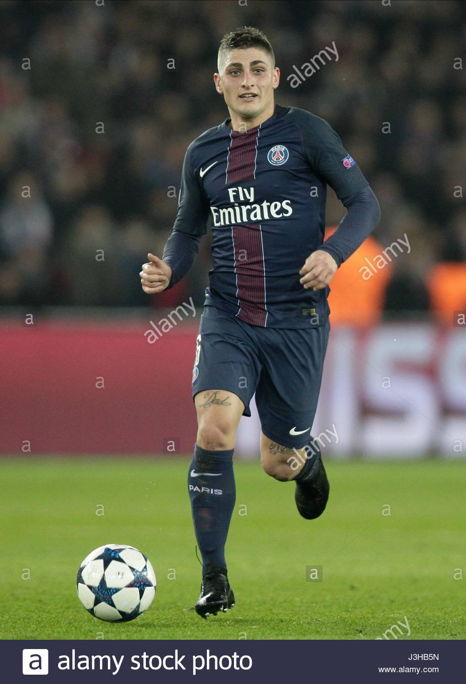 MARCO VERRATTI PARIS SAINT GERMAIN V BARCELON PARIS FRANCE 14