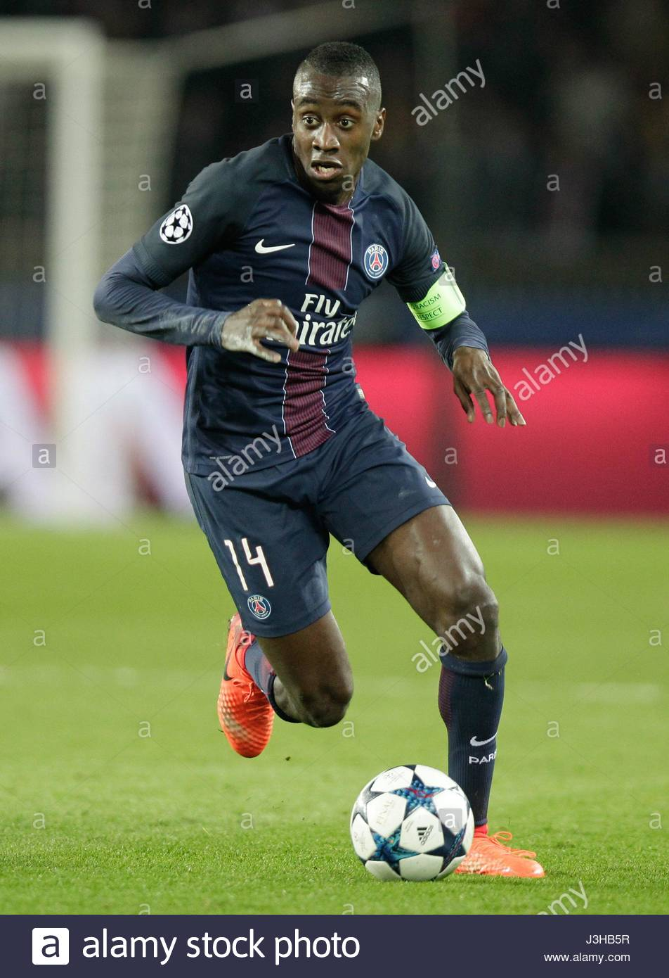 BLAISE MATUIDI PARIS SAINT GERMAIN V BARCELON PARIS FRANCE 14