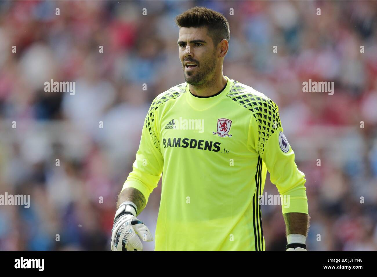 VICTOR VALDES MIDDLESBROUGH FC MIDDLESBROUGH FC RIVERSIDE STADIUM