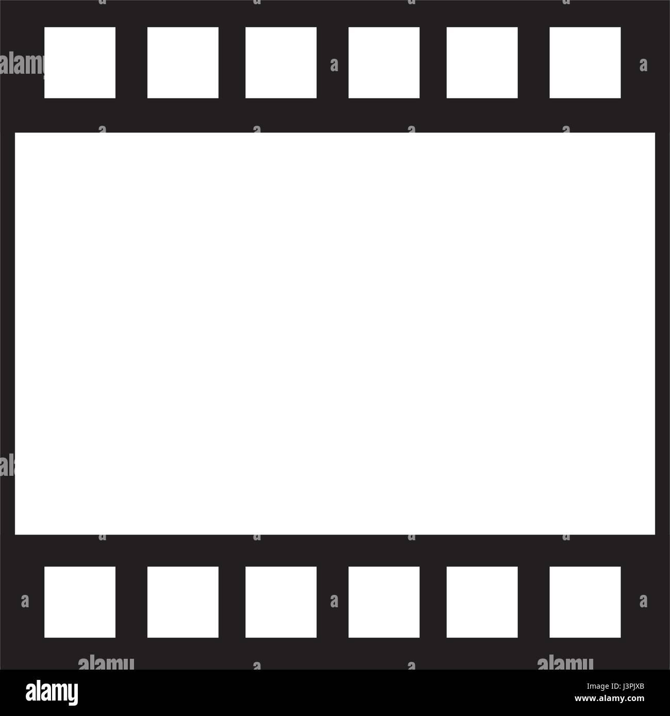 strip film frame cinema template image stock vector art, Powerpoint templates