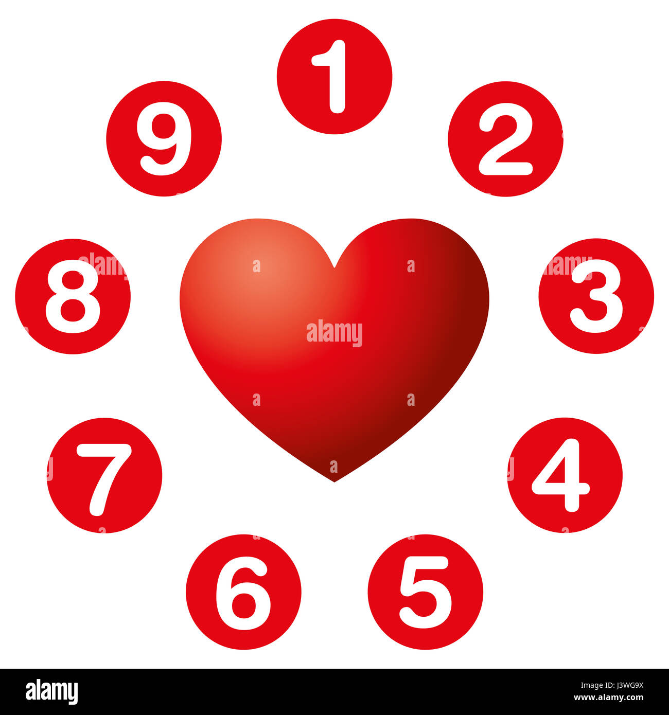 Hearts desire numbers circle numerology soul urge numbers in hearts desire numbers circle numerology soul urge numbers in red circles around a heart symbol the numbers reveal what we want more what us drive buycottarizona
