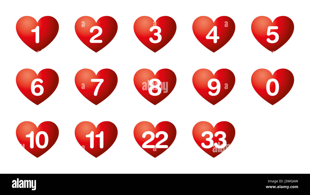 Hearts desire numbers numerology soul urge numbers in red heart hearts desire numbers numerology soul urge numbers in red heart symbols the numbers biocorpaavc