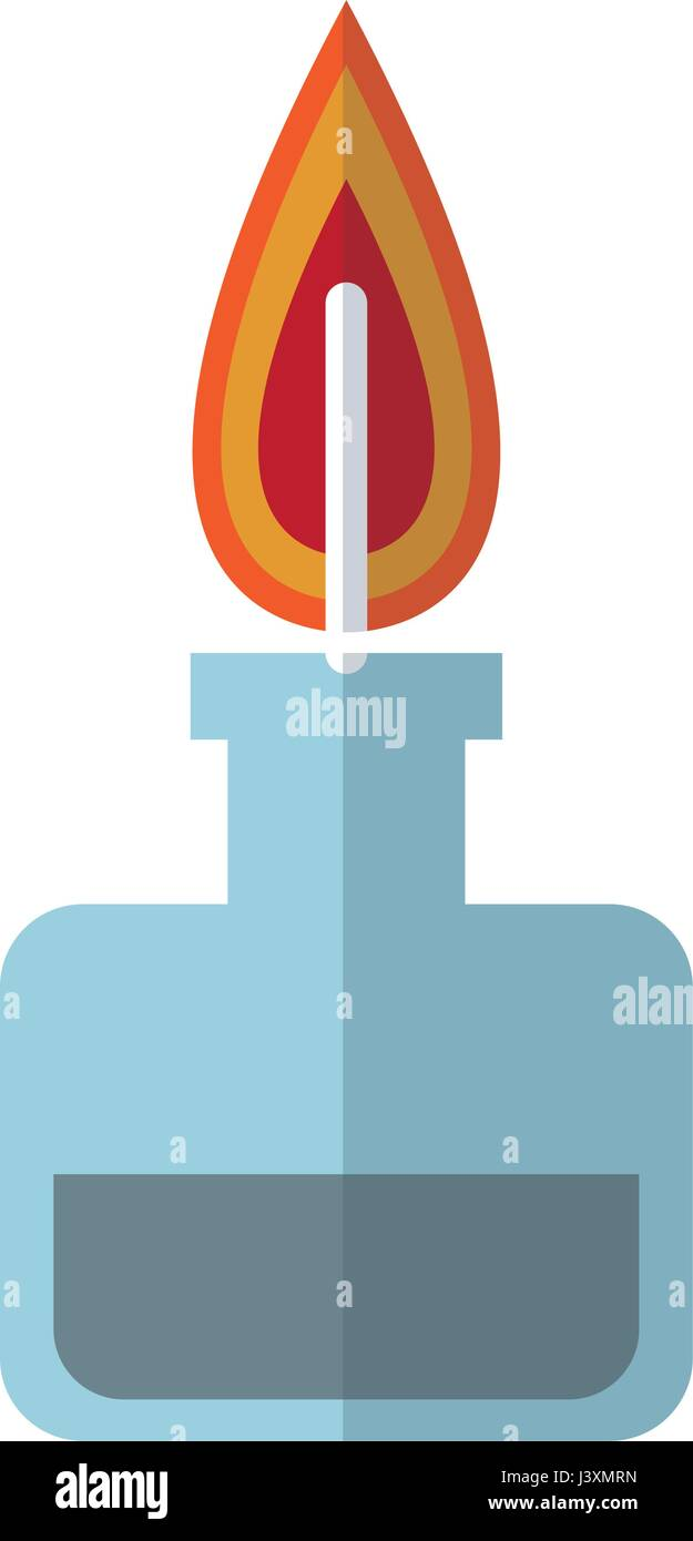 Bunsen burner flame laboratory chemistry stock vector art bunsen burner flame laboratory chemistry pooptronica Choice Image