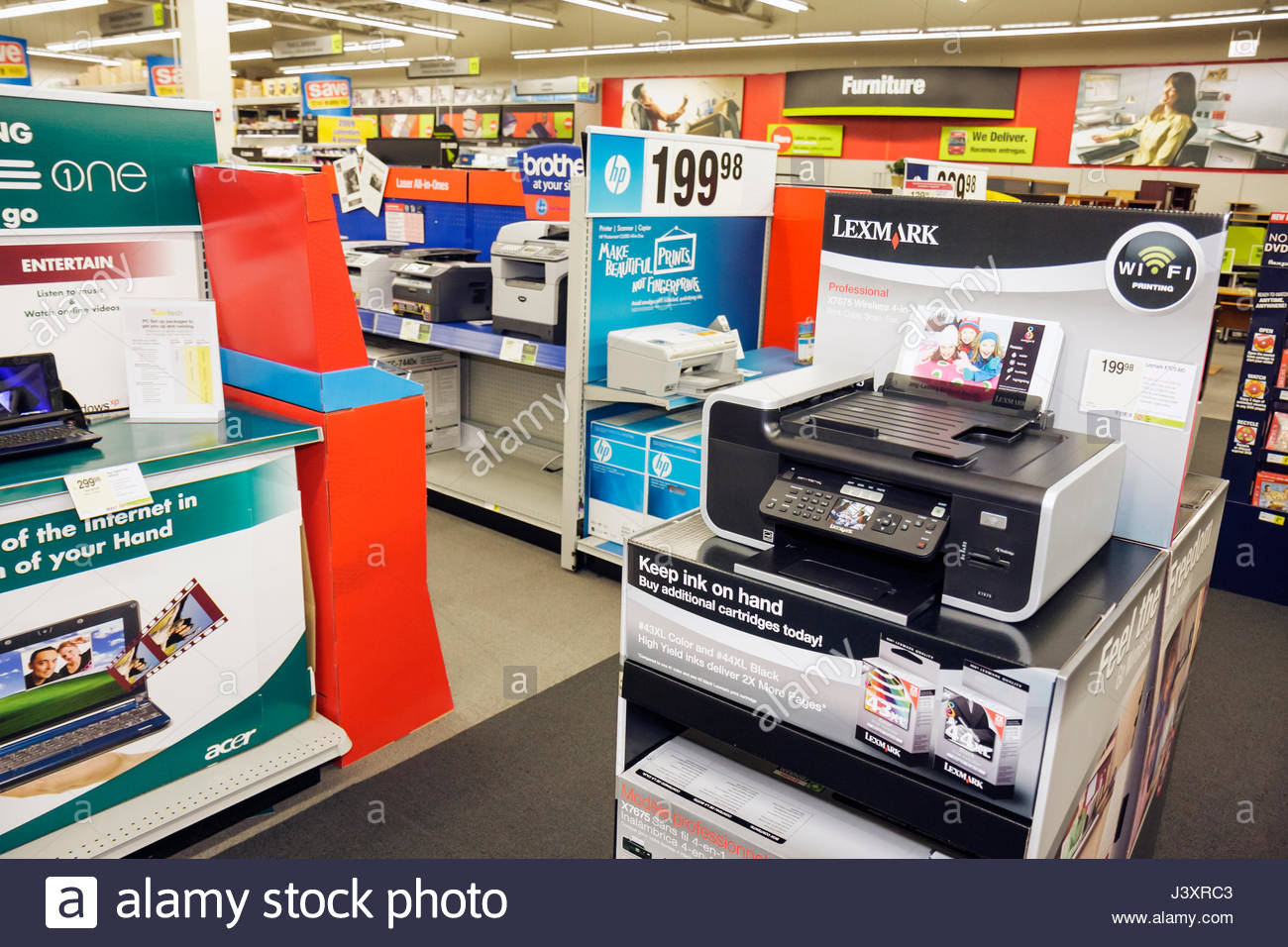 Miami Florida Staples Office Supply Products Store Retail