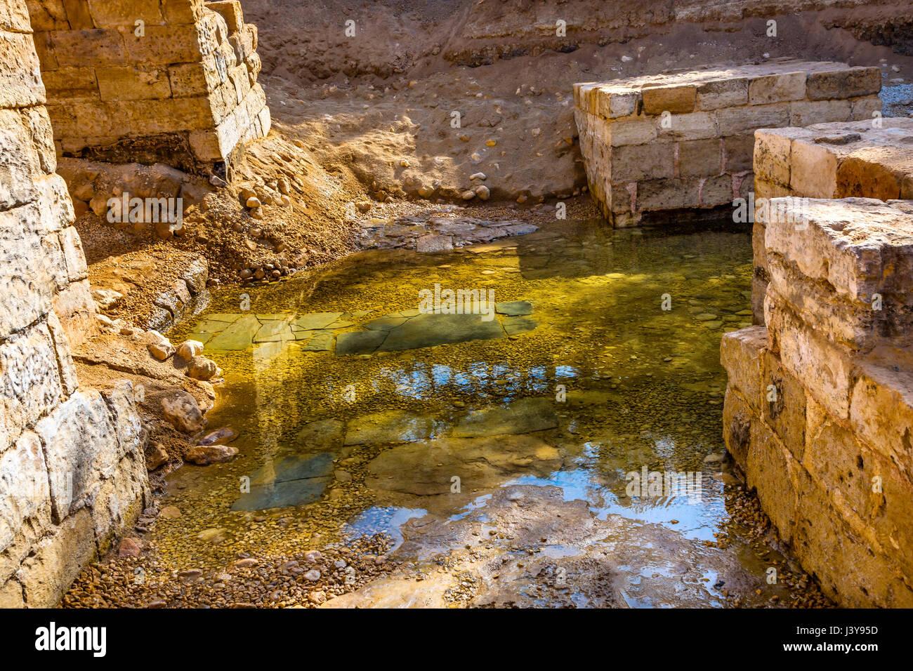 jesus baptism site john baptist bethany beyond jordan actual