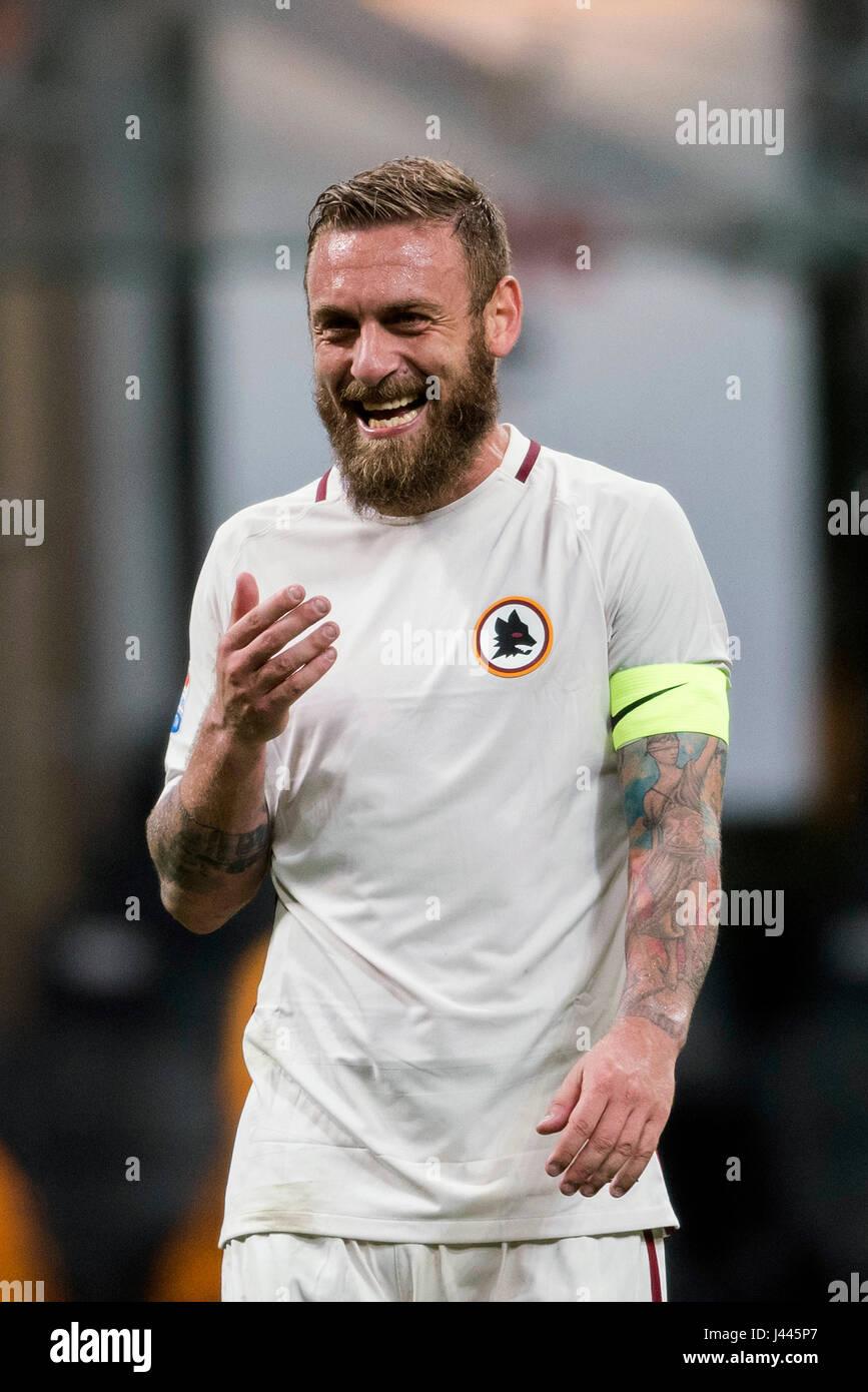 Milan Italy 7th May 2017 Daniele De Rossi Roma Football