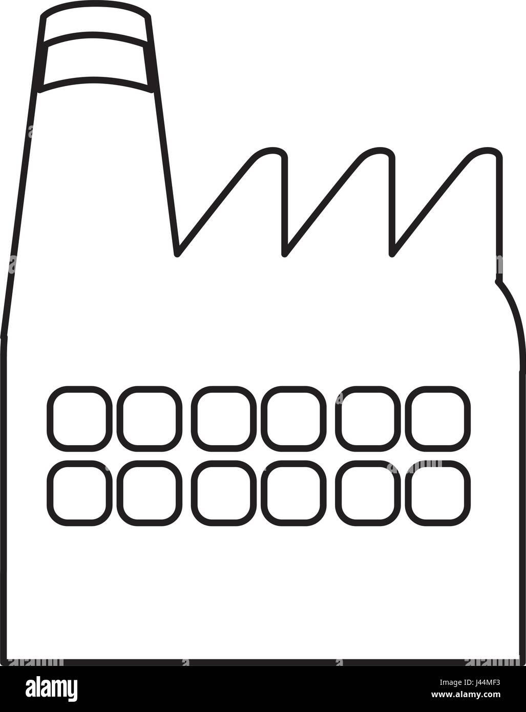 Factory building symbol stock vector art illustration vector factory building symbol biocorpaavc