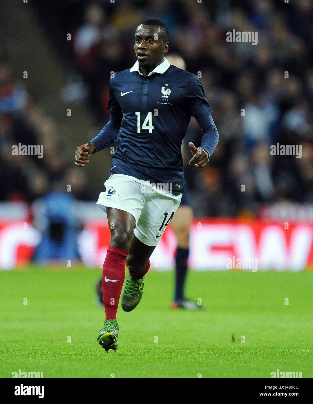 BLAISE MATUIDI OF FRANCE ENGLAND V FRANCE WEMBLEY STADIUM LONDON