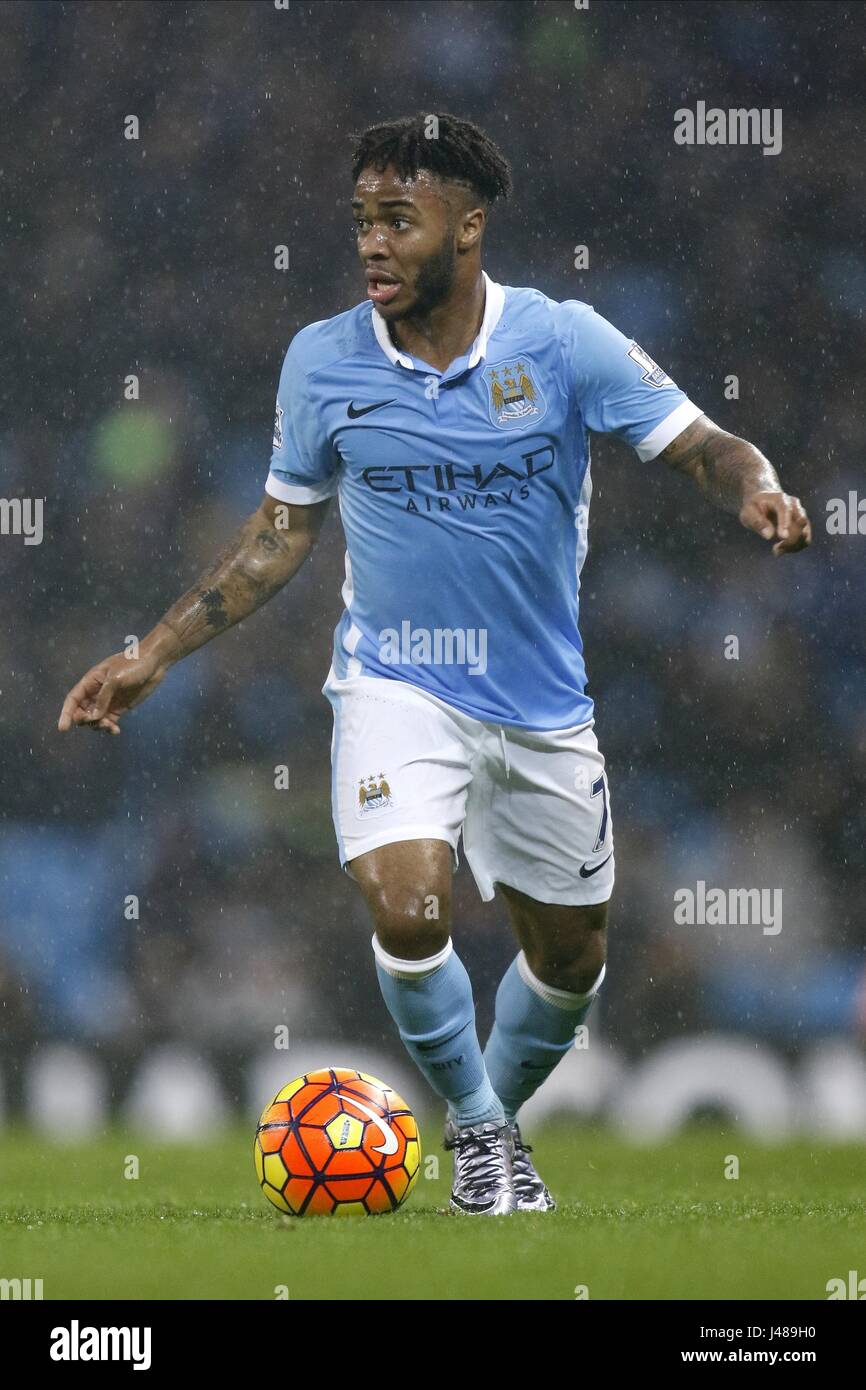 RAHEEM STERLING MANCHESTER CITY FC MANCHESTER CITY FC ETIHAD