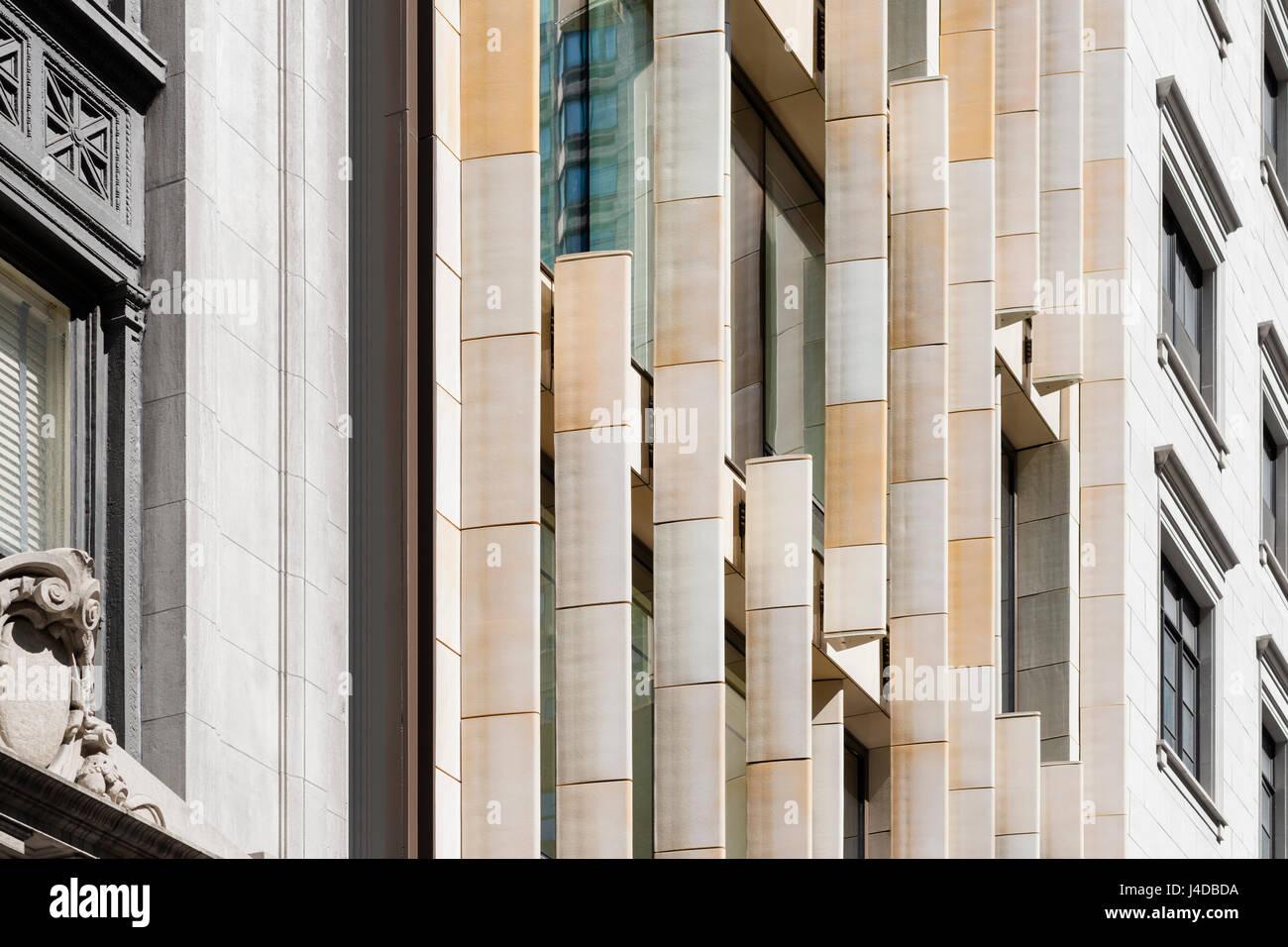 Detail Of Vertical Terracotta Fins Including Neighboring