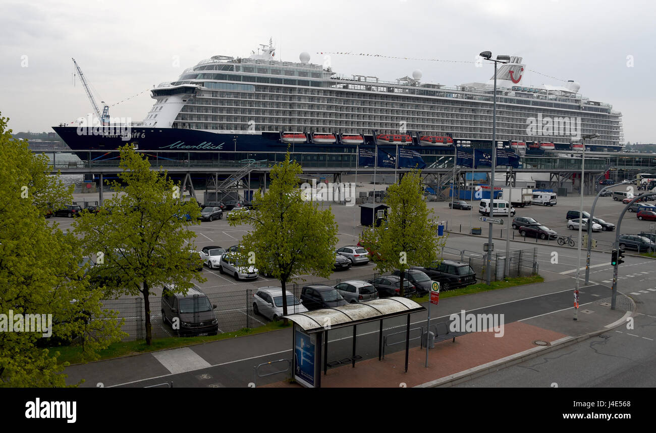 The Cruise Ship Mein Schiff Lit My Ship Can Be Seen At - My cruise ship
