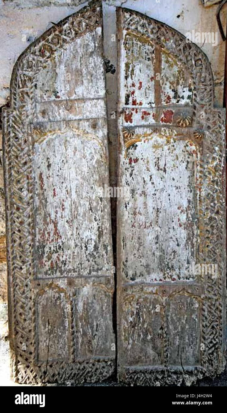 Royal Doors in Saint Mary Church in Bistrica 17th Century & Royal Doors in Saint Mary Church in Bistrica 17th Century Stock ...