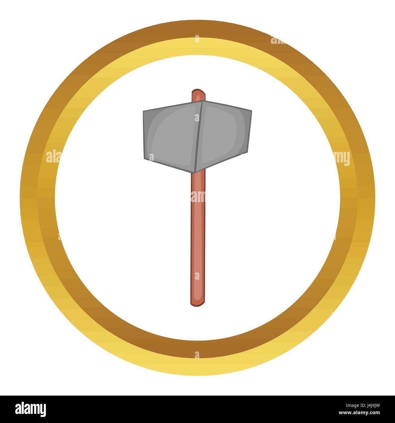 sledgehammer vector. sledgehammer vector icon
