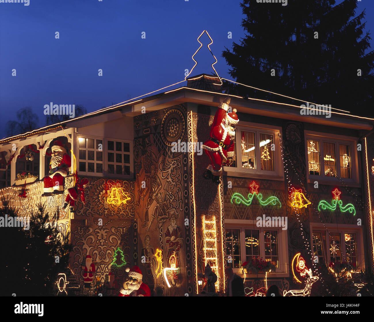 lights village house - photo #31