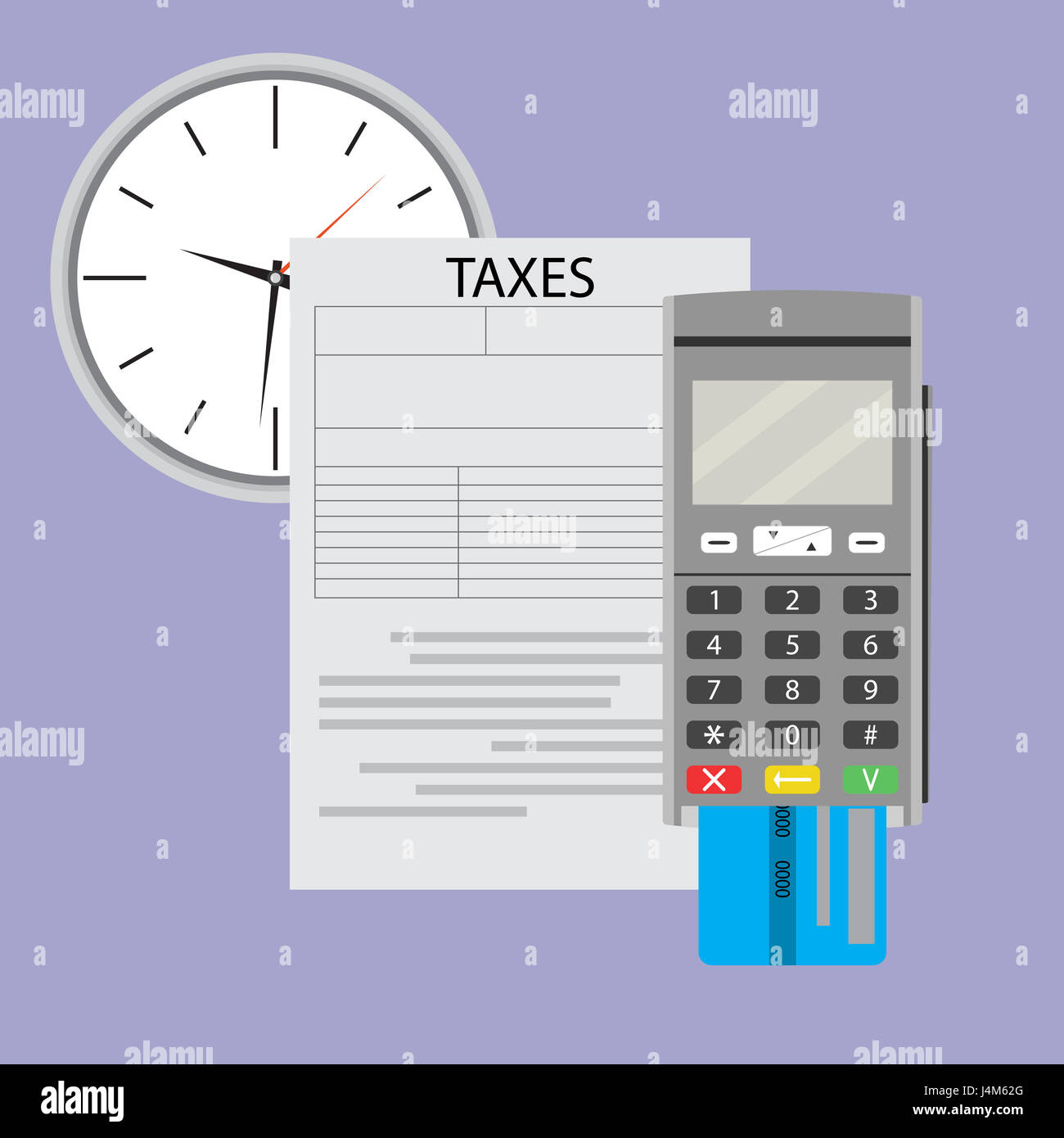 Time to pay taxes on income irs and tax season vector income tax time to pay taxes on income irs and tax season vector income tax form illustration falaconquin
