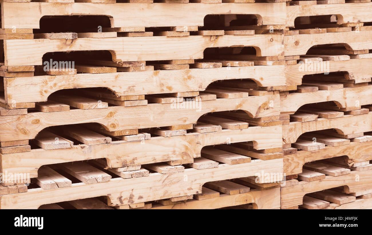 Wooden Pallets Background